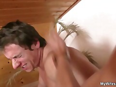 Xhamster - Son in law bangs not his GF's old mother