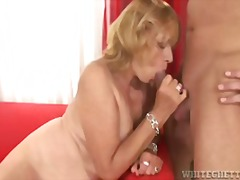 mature, blonde, hardcore, blowjob,