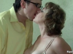 Busty mature horny slu... video