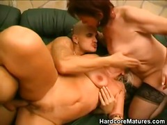 Thumb: Mature Babes Get It On...