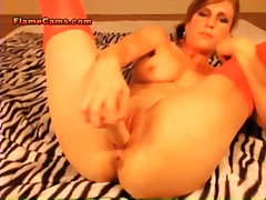 blowjob, webcam, babe, mom, blonde,
