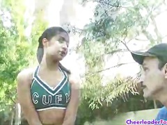 Hot cheerleader Ruby is ta... - 04:52