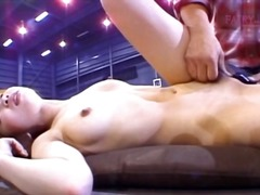 Asian pussy gets vibed... video