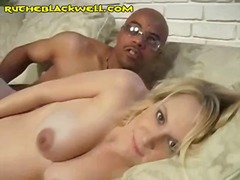 interracial, blonde, black,