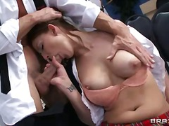 cock, mature, school, sucking,