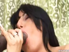 Yobt Movie:Janet person group-sex with 2 ...