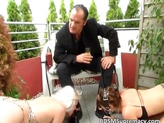outdoor, bdsm, outdoors, threesome,