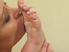 girl-on-girl, blonde, ass-licking, feet, fetish, lesbian