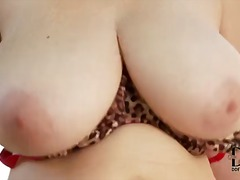 mature, tits, outdoors, massive