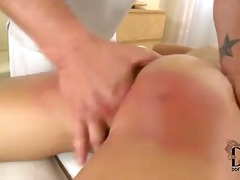 dp, big, spank, ass, model, spread