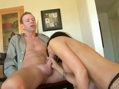 blowjob, deepthroat, interracial,