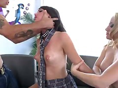 aiden starr,  hardcore, threesome