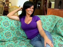 Dark haired sexy milf Lachasse pulls