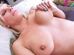 mature, shaved, fingering, blonde, pornstar, classic, solo, pussy, swallow, model, masturbation
