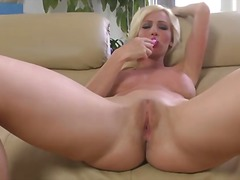 Blonde Cody Love in bl...
