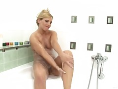blowjob, horny, milf, bathroom,