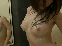 couple, homemade, orgasm, bathroom