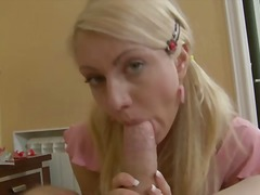 blonde, dildo, hardcore, orgasm