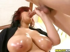 oil, shaved, natural, blowjob,