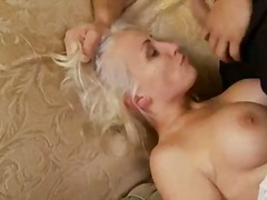 domination, model, shaved, blonde,