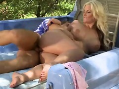 phoenix marie,  mature, outdoors,