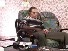 Yobt TV Movie:Sophia and Mike handsome nylon...