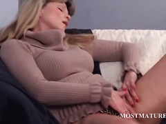 masturbation, big-tits, hardcore, older, milf, mature, mom, granny, blonde