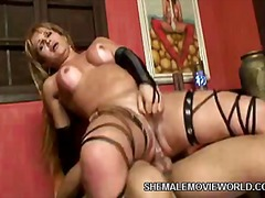 Nasty Shemale Porn video