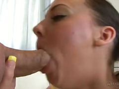 ivy winters,  cock, milf, swallow,