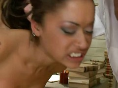 Sexy Skin Diamond tries to skip