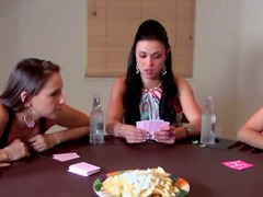 This game of strip blackjack with