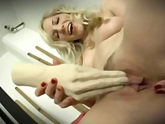 toy, babe, blonde, toys, masturbation