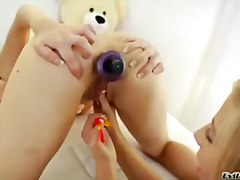 toy, anal, babe, toys, lesbian,