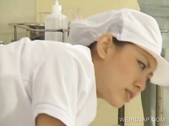 Japanese nurse gets do...