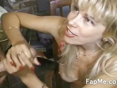 masturbation, jerking, milf, blonde