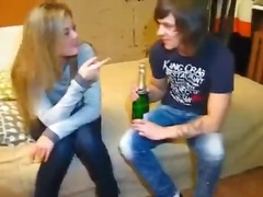 Drunk blondie gets laid preview