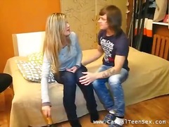 Drunk blondie gets laid - 03:05
