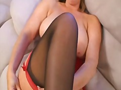 squirt, bbw, squirting, stockings, fetish, masturbation