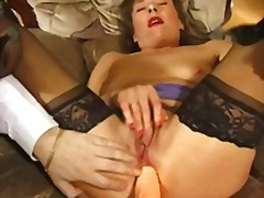 mature, sex-toys, toys, stockings