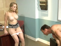 Busty blonde coed Kagn... preview