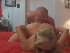 Porner Bros - Amateur milf and husband getting freaking in bedroom