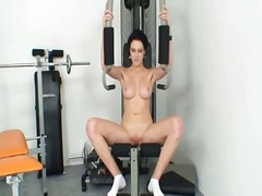 spreading, big-tits, babe, pussy-eating