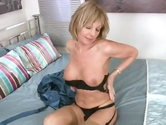 toys, blonde, milf, big-tits, shaved,