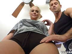 phoenix marie,  blonde, massage