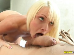 blonde, facial, hardcore, model