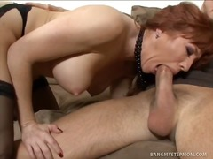 hardcore, redhead, babe, oral