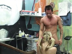 Steaming hot stud Joey Brass with