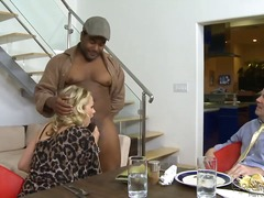 katie kox,  busty, interracial