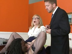 Nathan Threat gives Nina Hartley a