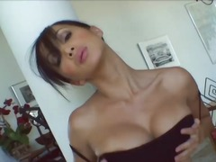 Luscious Asian MILF Katsumi will show